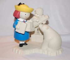 "Snowbabies Guest Collection ""A Gift So Fine From Madeline"" Dept 56"