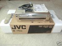 JVC HR-DVS1 miniDV- / S-VHS-Videorecorder, OVP, neuwertig, 2 Jahre Garantie