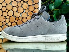 Adidas Stan Smith Suede Gray 2016 Fashion Shoes Men's Low Top Sneakers Size 7 US