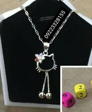 Kids Necklace - hello kitty-Authentic 925 Silver