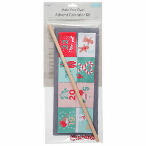 Make Your Own Wall Hanging Advent Calendar Craft Kit - 30x46cm