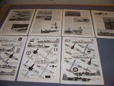 VINTAGE..EMB-312 TUCANO  VARIANTS..HISTORY/PHOTOS/23 PROFILES...RARE! (26H)