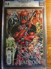 X-Men Origins: Deadpool #1 (September 2010, Marvel) CGC 9.8