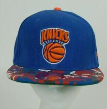 NBA New York NY Knicks New Era Hardwood Classics Flatbill Snapback Cap Hat