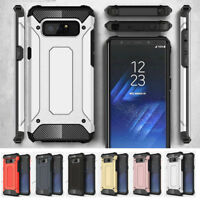 Armor Rugged Hybrid Shockproof Phone Case Cover For Samsung Galaxy Note 8 S8+ S7