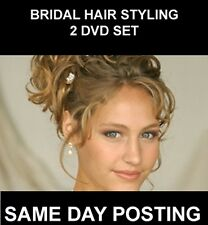TWO DISC DVD STEP BY STEP GUIDE TO BRIDAL HAIRDRESSING / HAIR STYLING / WEDDING