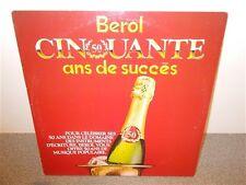 * Berol . Cinquante Ans De Succès . CBS Special Product . 2 LP
