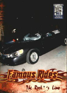 2002 Fleer WWF All Access Famous Rides #FR3 The Rock