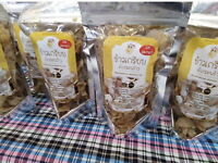 Sago Worms snacks which is delicious, healthy, proven full of protein & nutrient