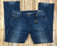 DIESEL Zatiny Mens Jeans 38x32 Stretch Regular Bootcut NEW C84QQ