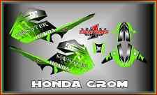 Honda Grom & MSX125  SEMI CUSTOM GRAPHICS KIT BLOCK