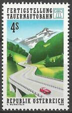Austria 1988 MNH - Transport - Completion Tauern Autobahn Motorway