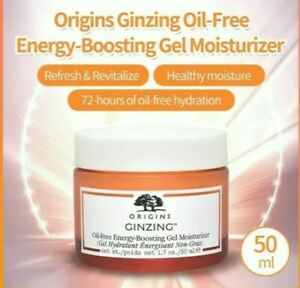 Origins Ginzing Energy Boosting Moisturiser Oil Free 50ml UNBOXED LATEST VERSION