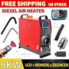 Diesel Air Heater All in One 8KW LCD Thermostat For Boat Motorhome Truck 8000W <br/> Energy Saving Oil Pump !! Low Noise!! Professional !!