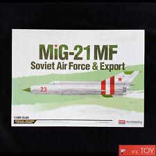 Academy 1/48 MIG-21MF Soviet Air Force & Export Plastic model kit #12311