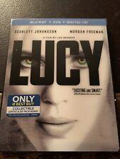 Blu-Ray - Lucy (2015, Best Buy **NO Digital Copy/DVD**) w/ RARE & 3D Slipcover