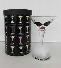"LOLITA ""Almost Famous"" Martini Cocktail Glass ORIGINAL TAGS STILL ON STEM"