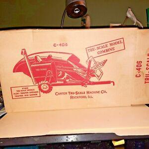 Vintage Tru Scale Model C- 406 Combine with Box