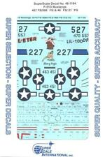 1:48 P-51D Mustangs 457 FS/506th FG & 46th FS/21st FG SuperScale Decals #48-1184