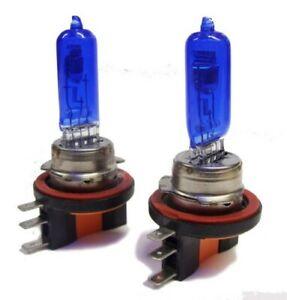 Pair 55/15W H15 7500K Xenon High Beam DRL Bulbs Headlight For Ford Ranger 15-On