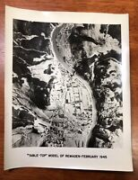 WW2 AAF Photo 67th Group Aerial Recon Pre Bombing Assessment Remagen Bridge 1945
