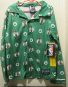 Boston Celtics youth pajamas set size M