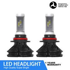 9007 Led Csp Headlight Kit 60W 12000Lm Hi-Lo Beam Bulbs 6000K White Xenon Jld(Fits: Neon)
