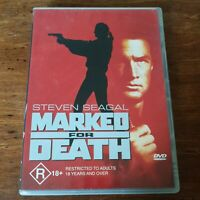 Marked for Death DVD R4 Like New! FREE POST Steven Seagal
