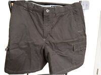 Columbia Shorts Womens 8 Espresso Cargo Outdoors Hiking Hiker Ladies New NWT