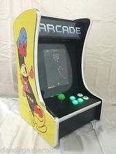 New Ms PacMan Galaga Mini Upright Arcade Game Multicade Bar Top