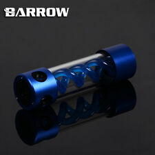 Barrow Alloy Cylinder T-Virus BLUE Spiral Suspension Tank Reservoir 205mm - A32