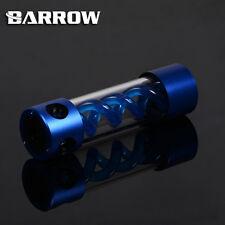CILINDRO in lega Barrow T-Virus Blu a spirale sospensione Serbatoio Serbatoio 205mm