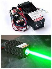 60mW 532nm Green Laser Dot Module w/TTL 12V Thick Beam Bar Stage Lights w/ Fan