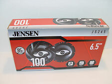 "New Jensen JS265 JS-Series 6.5"" Speakers 1 Pair 200 Watts Car Motorcycle UTV"