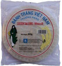 Reispapier 500g Frühlingsrollen orientalische Speisen rice paper Ø 22cm