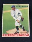 ALVIN CROWDER 1933 GOUDEY R319 #95 - VG CONDITION - WASHINGTON SENATORS