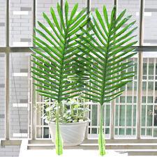 63cm 12pcs Artificial Palm phoenix Tree Branch Leaf Frond Home Patio Sago