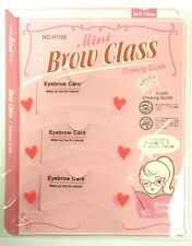 Reusable Eyebrow Shaping Stencils Template Card Make Up Appliance Tool Brow New