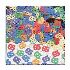 AGE 65 - 65th Birthday Table Confetti Sprinkles 65th Birthday Party Decorations