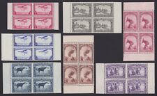 Belgian Congo 1937 Booklet stamps Cob#A5 Blocks of 4 - Unused MNH Luxe.....A5171