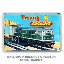 TRI-ANG (Triang) RAILWAYS TT GAUGE CATALOGUE ART JUMBO FRIDGE / LOCKER  MAGNET