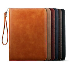 For iPad Mini 1 2 3 4 5 Genuine Luxury Leather Case Cover Smart Shockproof Stand
