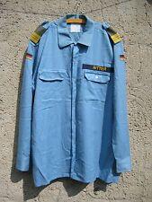 Bundeswehr Marineuniform Bordhemd Diensthemd lang mit Effekten Gr.45/46 !