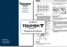 Triumph Speed Triple T509 and T595 Service Manual 1997 to 2001 - Workshop SHOP
