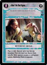 Don't Do That Again [Near Mint/Mint] REFLECTIONS III star wars ccg swccg