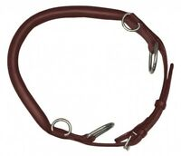NEW Kincade Leather Hackamore Noseband Schooling and Training Brown Adjustable