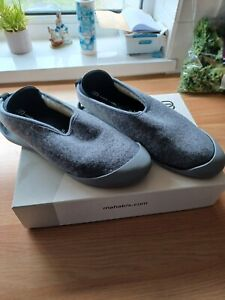 mahabis classic slippers larvik grey size 41