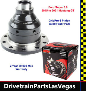 Ford Super 8.8 10 Bolt Posi for 2015 to 2021 Mustang Richmond-Powertrax Grip Pro