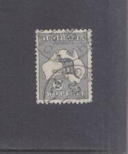 AUSTRALIA-1913-2d GREY KANGAROO-SG 3-FINE USED-$7-freepost