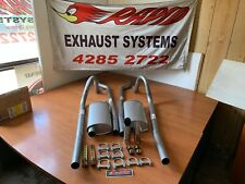 FORD FALCON DUAL EXHAUST SYSTEM FROM EXTRACTORS  XA-XB-XC